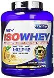 Quamtrax Nutrition Isowhey 5 Lb  - Suplementos de Proteínas, sabor plátano - 2267 gr