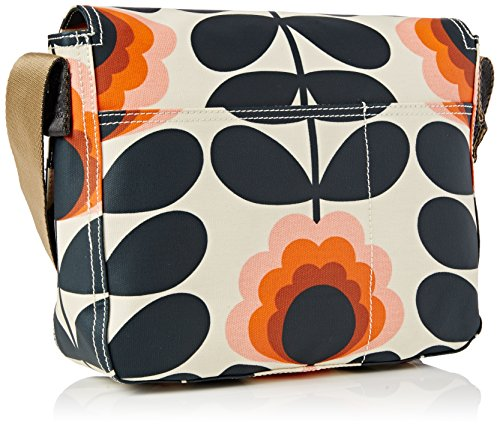 Orla Kiely Summer Flower Stem Small Satchel, Sacoche Yellow (Sunset)