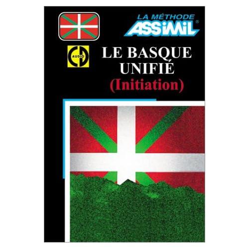 Le Basque unifié : Initiation (1 livre + coffret de 3 CD)