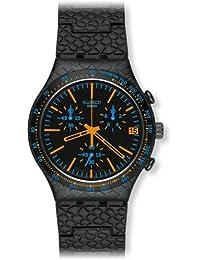 Swatch Herren-Armbanduhr Reptile Orange YCB4017AG