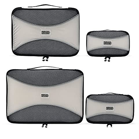 PRO Packing Cubes | 4 Piece Travel Packing Cube Value
