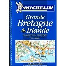 Atlas routier et touristique de la Grande Bretagne et de l'Irlande