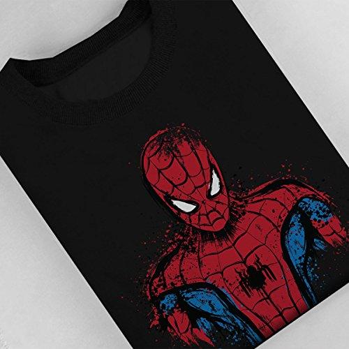 Spider Man Web Warrior Women's Sweatshirt Black