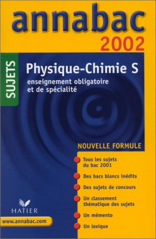Physique-chimie S. Sujets 2002