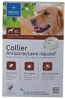 Demavic Collier Insectifuge pour Grand Chien