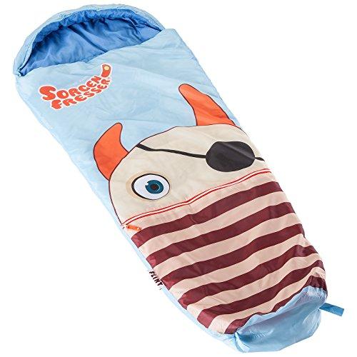 Skandika Sorgenfresser Schlafsack für Kinder mit großer Tasche (bis -12°C) (Flint)