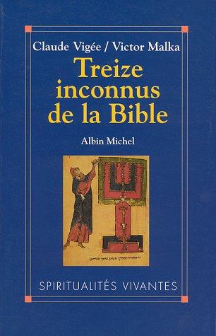 Treize inconnus de la Bible