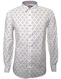 Ted Baker Men's Laaze White Long Sleeved Shirt
