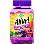 Alive! Calcium 60 Soft gels, 500 g