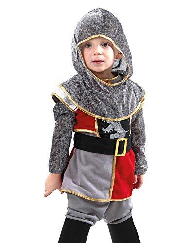 Kinderkostüm Tapferer Ritter (Mittelalter Jungen Kostüme)