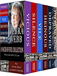 A Faces of Evil Collection Bundle: Vicious, Silence, Vile, Heinous, Depraved, The Dying Room