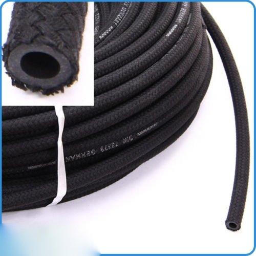Preisvergleich Produktbild Kraftstoff Schlauch Gewebeschlauch Unterdruck 6mm 1 Meter Leitung