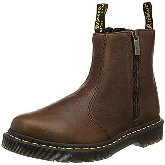 Dr. Martens Women's 2976 W/Zips Chelsea Boots