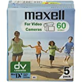 Maxell MAX-DVM60P5 - Cinta de audio/video