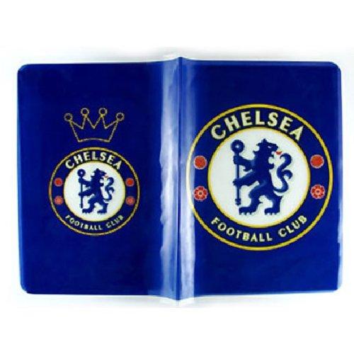 Chelsea FC Blau Logo Passport Cover Halter ~ keine mehr gebogen Ecken während der Reise -