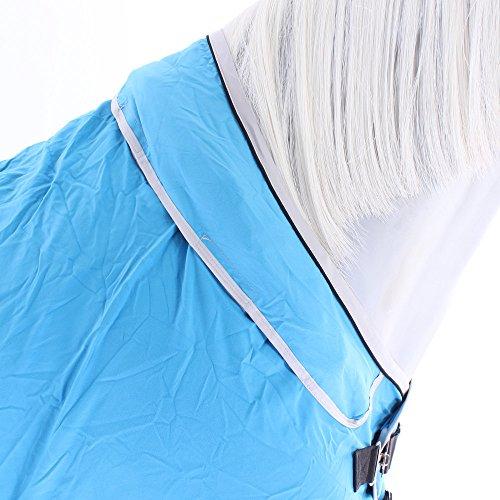 Horseware Rambo Dry Rug Supreme – Blue/Black/White, Groesse:M - 9