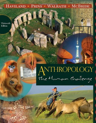 Anthropology The Human Challenge Pdf