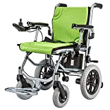 EMOGA Elektrischer Rollstuhl Multifunktionsfalte Elektrorollstuhl Autoälterer Intelligenter Automatischer Tragbarer Roller Älterer Behinderter