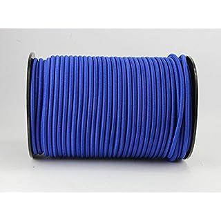 20m Expanderseil 6mm blau Gummiseil Planenseil Spannseil elastisches Seil Plane