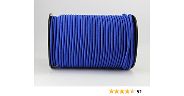 Spannseil Planenseil,elastisches Seil ø 4 mm GUMMISEIL Meterware Expanderseil