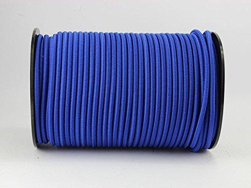 10mm Expanderseil 10m blau Gummiseil Planenseil Spannseil Seil Plane