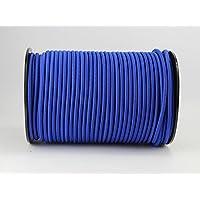 20 M cuerda elástica 6 mm de grosor de goma azul tensor de lona cuerda elástica