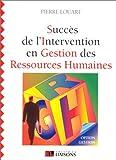 Succès de l'intervention en gestion des ressources humaines