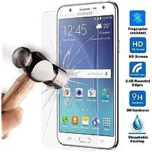 Protector de Pantalla en Cristal Templado Premium para Samsung Galaxy J5 - Dureza 9H - Alta Definicion - 0,33mm - Ociodual24Horas
