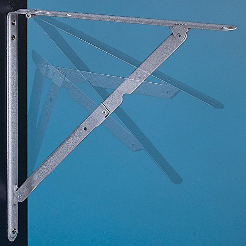 12 x 12 Folding Shelf Brackets (Pair) by Ultra Hardware (Hardware Shelf Folding)