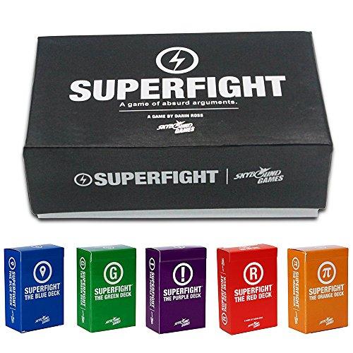 Preisvergleich Produktbild Card Boy Superfight + SUPERFIGHT Purple + Blue + Red + Green + orange Extensions
