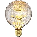 KINGSO 3W E27 85-265V Globe Ampoule LED Edison Lampe Décorative 150LM Vintage Antique Rétro Non Dimmable
