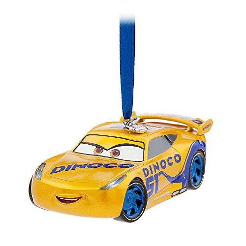 Disney Cruz Ramirez lumineux croquis Ornement - Cars 3 Doré 465063962991
