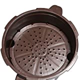 Smart Cooker Pressure Cooker for the Microwave with Steamer Cooking Pot Diameter 18.5cm