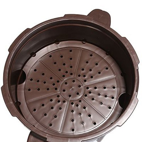 Smart Cooker Schnellkochtopf f. die Mikrowelle m. Dämpfeinsatz Kochtopf Ø 18,5cm - 2