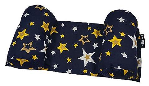 Wobbly Walk Étoile Imprimer Coton Nouveau-Nounours Pillow Mat