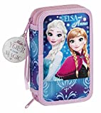 Disney Frozen Frozen Northen Lights Astuccio, 20 cm, Blu (Azul)