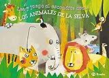 Lee y juega al escondite con... LOS ANIMALES DE LA SELVA (Castellano - A Partir De 3 Años - Manipulativos (Libros Para Tocar, Jugar Y Pintar), Pop-Ups - Otros Libros)