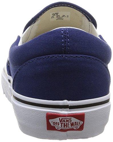 Vans U Classic, Unisex - Erwachsene Sneaker Blau - Bleu (Twilight Blue/True White)
