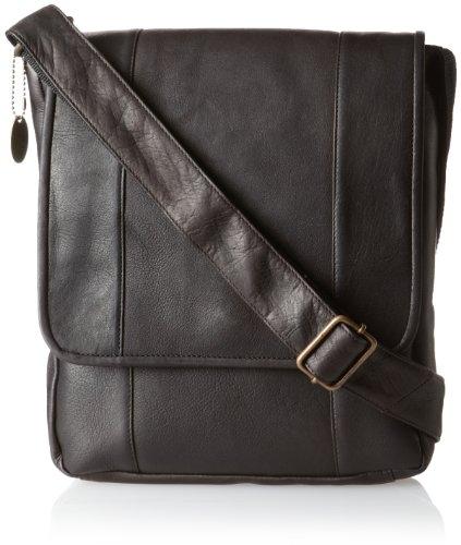 david-king-co-vertical-mans-bag-cafe-one-size