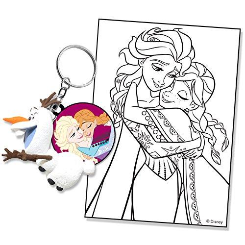 Tomy - E8941EU1 - Figurine - Porte-clés Olaf Disney La Reine Des Neiges - Modèle Aléatoire