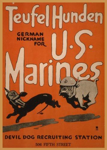 World of Art Vintage US-Propagandaposter 1.Weltkrieg 1914–18,