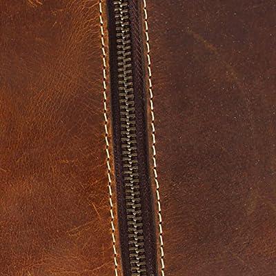 Rustic Town Cuir traditionnel fait main de qualité supérieure Sac de Voyage en Cuir Bagage à main Bagage Cabine style Vintage et Antique Pour Les Voyages et les Sports Un Cadeau de L'Artisan Indien.