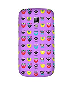Beard-Colour-11 Samsung Galaxy S Duos S7562 Case