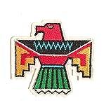 Aufnäher, Azteken/Maya-Motiv, 7x 6cm