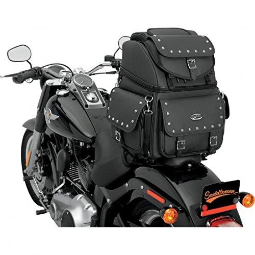 Preisvergleich Produktbild Saddlemen Dresser Back Seat Sissy Bar Bag Synthetic Lederimitat – Saddlemen 35150121