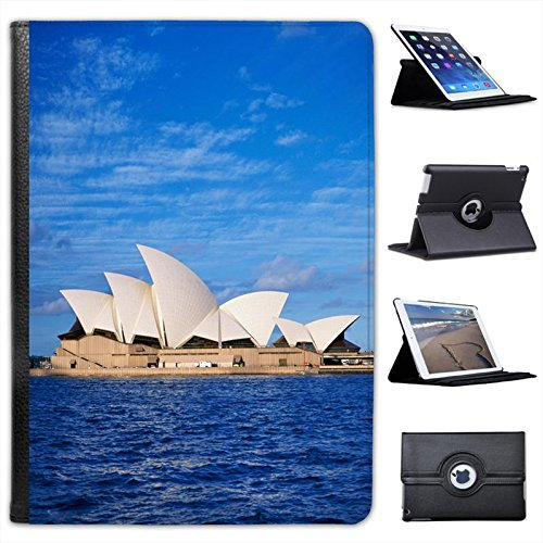sydney-opera-house-on-waterfront-in-australia-for-apple-ipad-air-2-faux-leather-folio-presenter-case