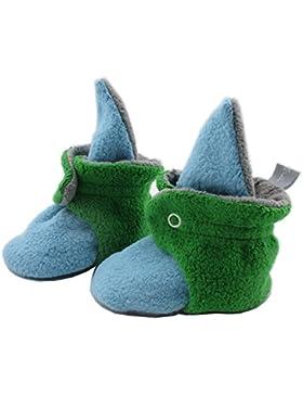 Baby Bootie Babyschuh Krabbelschuh Lauflernschuh Babybooties für Mädchen und Jungen ❤ SmukkeDesign NEU blau grün...