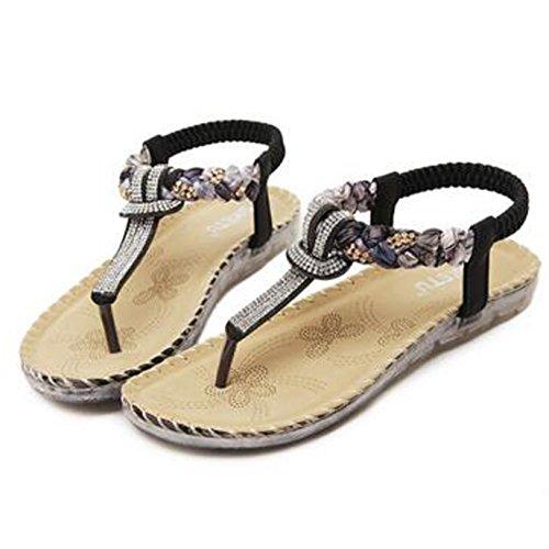 SUNAVY - Cinturino alla caviglia Donna Nero