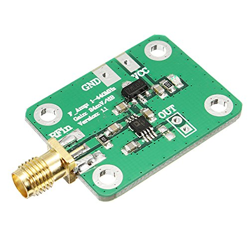 Bluelover ad8310 0.1-440mhz ad alta velocità h-frequenza rf rivelatore logaritmico potenza misuratore per amplificatore