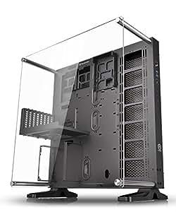 Thermaltake P5 Case Medio per PC, Nero/Trasparente